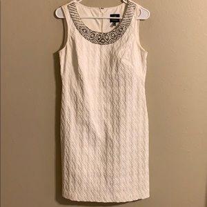 Adrianna Papell sheath dress beaded neck 4